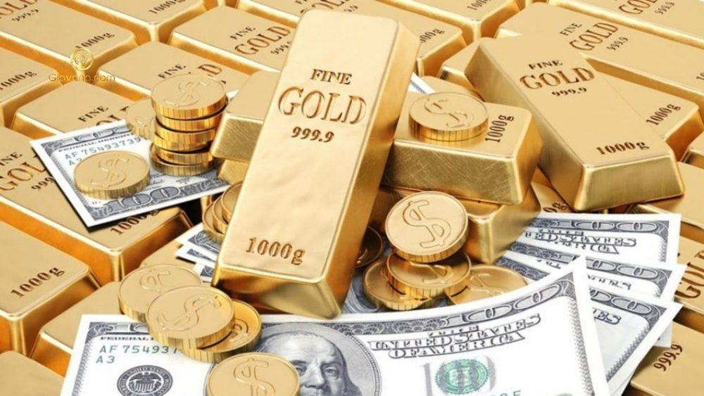 vàng giảm