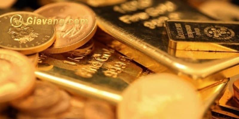 Vàng trên đà giảm