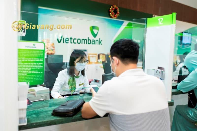Giữ hộ vàng ở ngân hàng Vietcombank