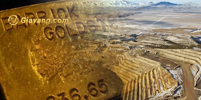 Cổ phiếu Barrick Gold