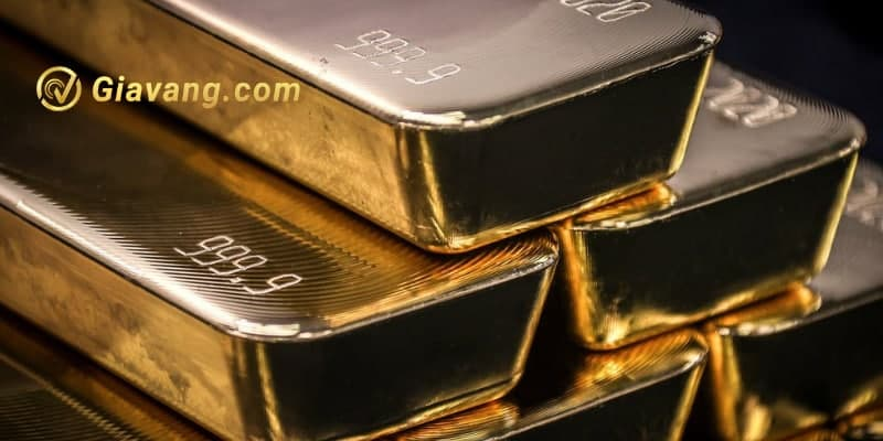Vàng giảm đô la tăng