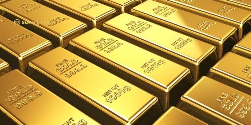 vàng suy yếu