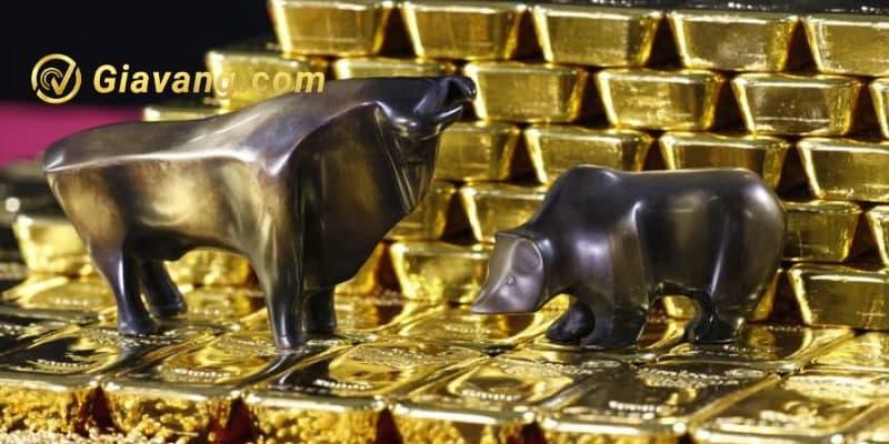 Vàng đối mặt mức kháng cự 1800USD