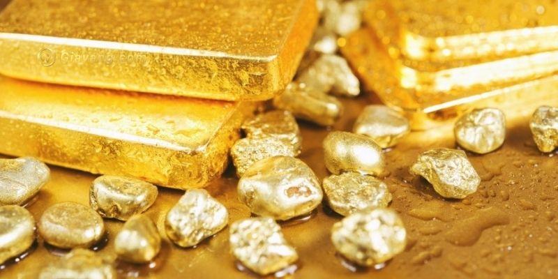 khai thác vàng